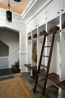 Historic St. Paul Kitchen and Mudroom Addition/Renovation traditional entry
