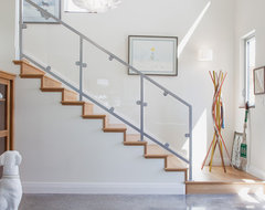 Hoffmanresidence-Staircase contemporary-entry