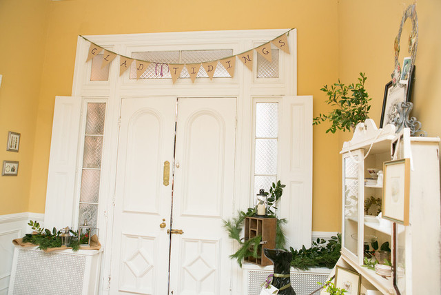 Holiday Decorating at The Tyler Spite House/Frederick, MD traditional-entry