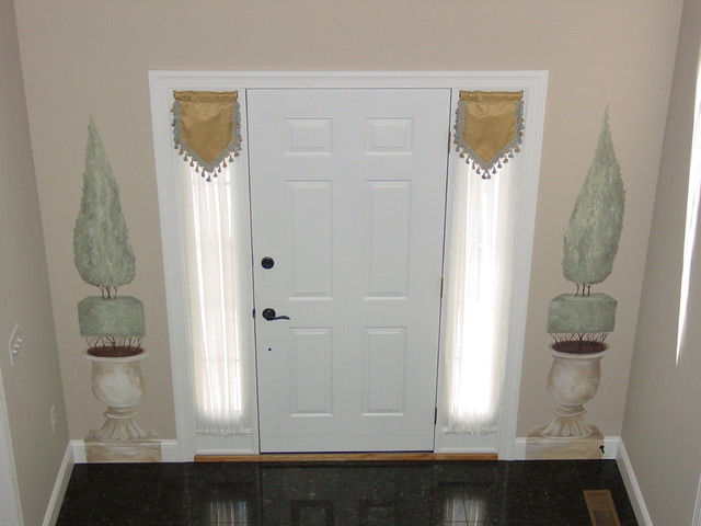 Home Designs traditional-entry