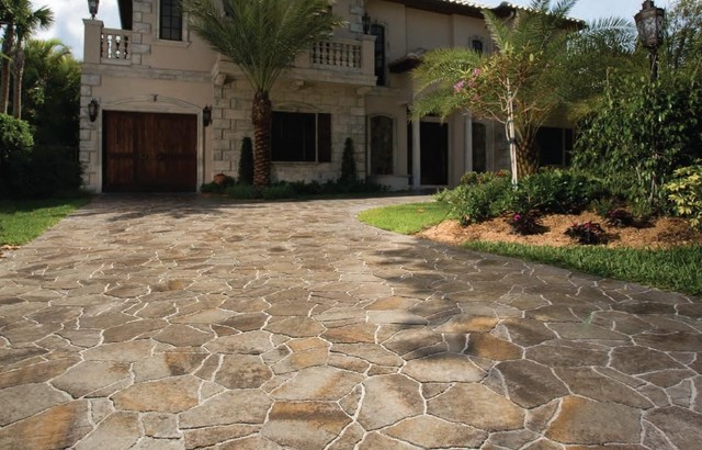 Home Entry Curb Appeal Driveway Porch Pavers Orlando