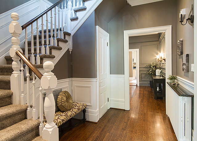 Home Staging After Photos transitional-entry