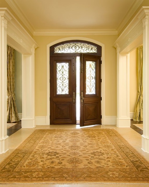 Homes built by Dan Hutts traditional-entry