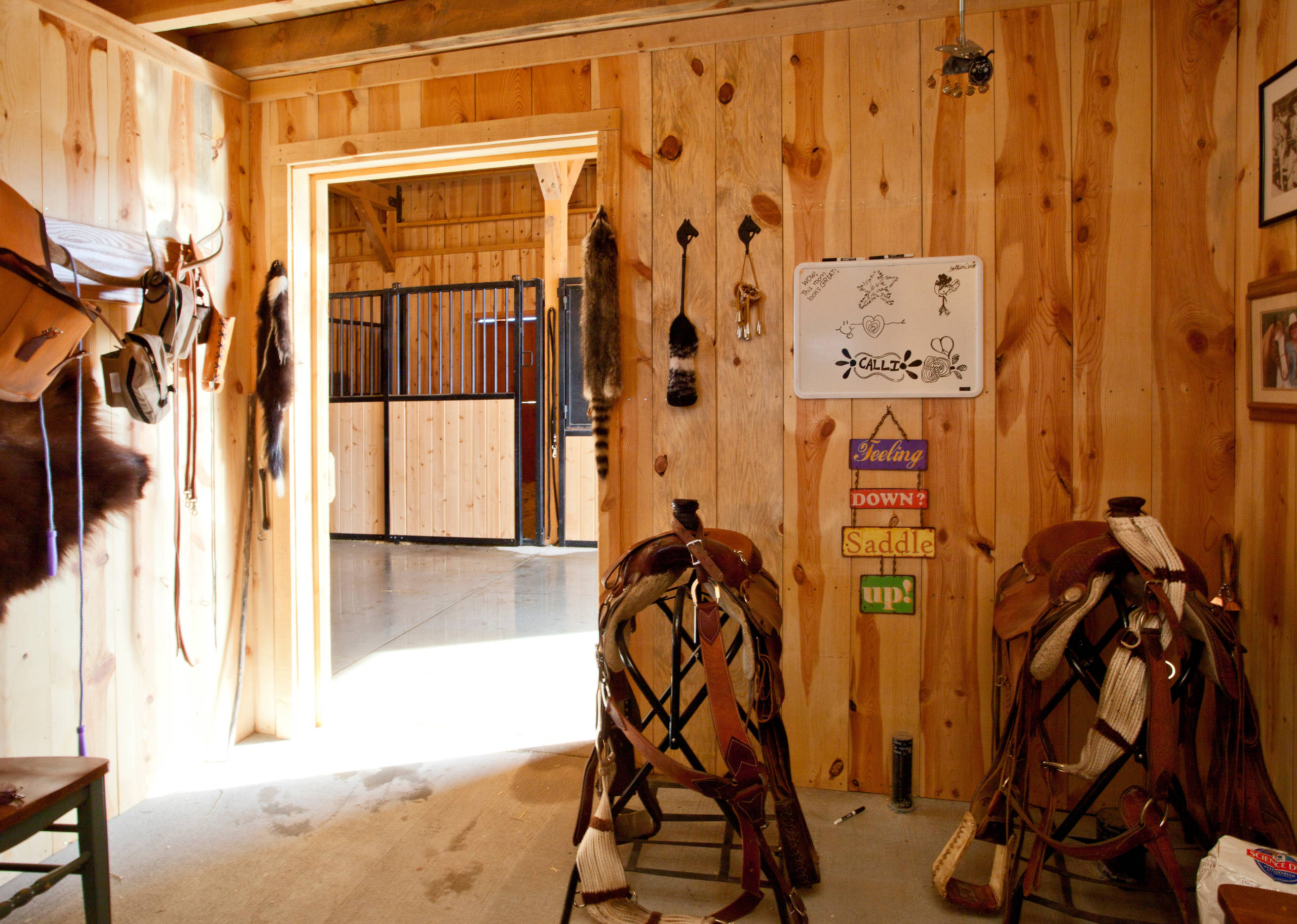 Horse Barn Tack Room Houzz