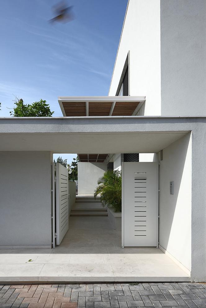 Entryway - modern entryway idea in Other