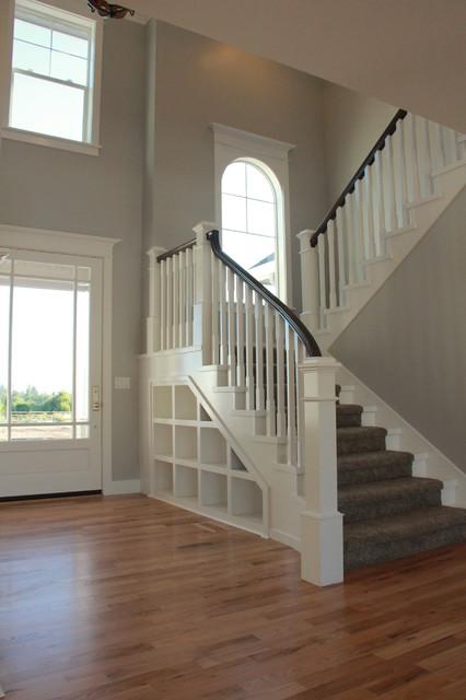 Entryway - craftsman entryway idea in Other