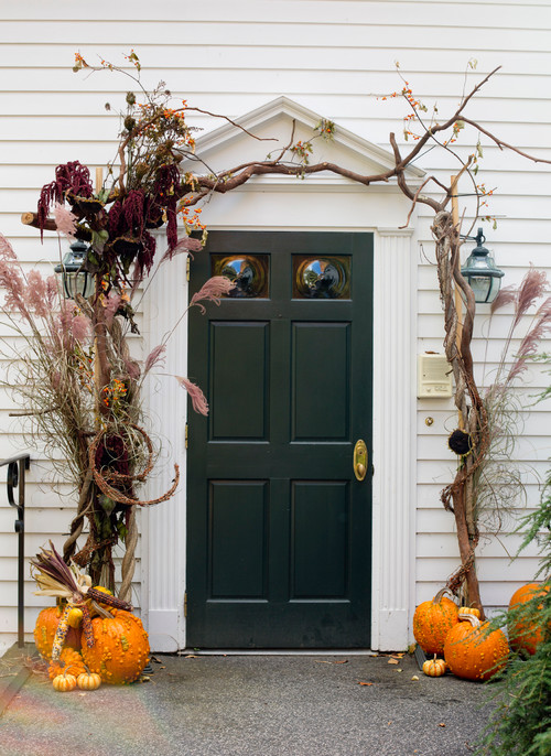 Spruce Up Your Listing's Front Stoop With a Taste of Fall