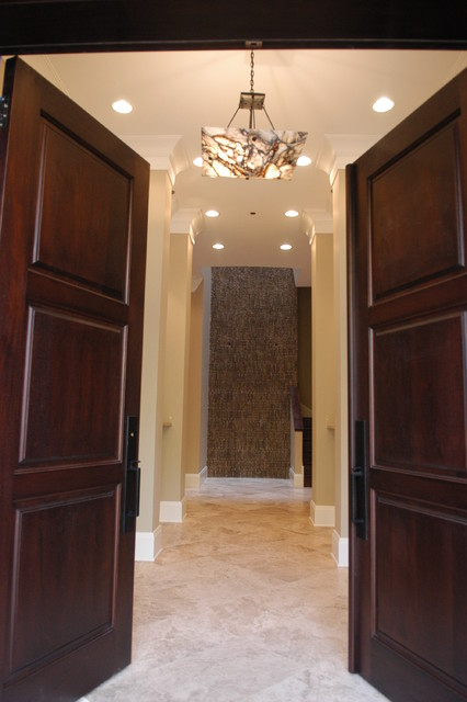 Howe Street Residence traditional-entry