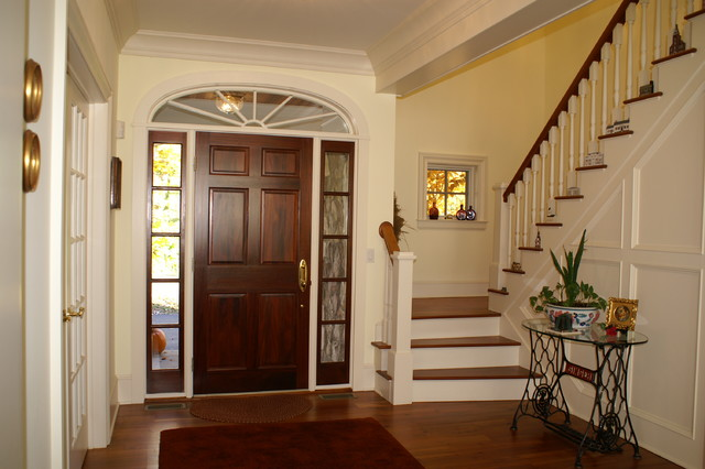 Hudson River Valley Home traditional-entry