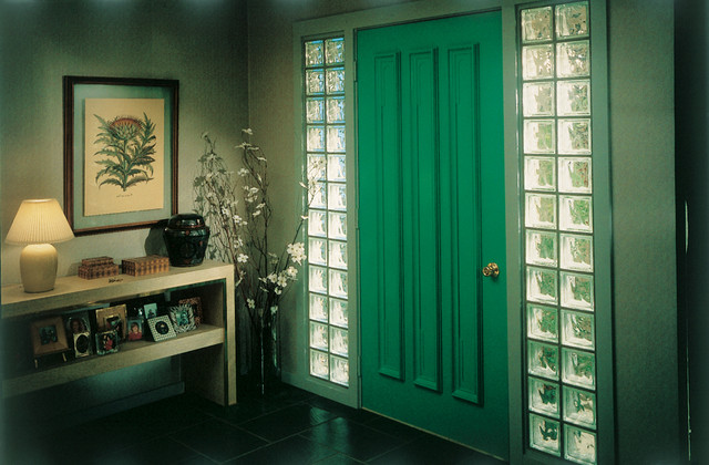 Ideas for Glass Blocks - Modern - Entry - Chicago - by Chicago ...