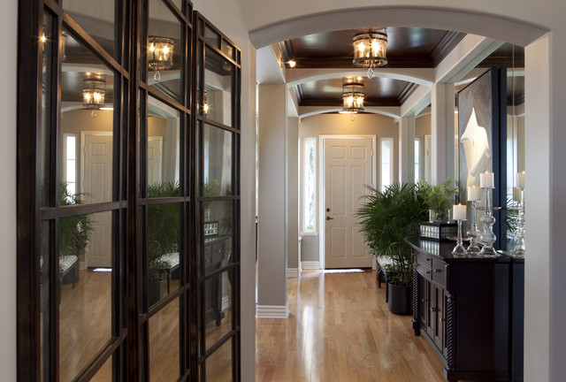 Impressive entry way traditional entry san diego - Decoration style campagne chic ...