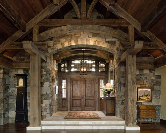Stone Foyer Entrance : Stone foyer home design ideas pictures remodel and decor