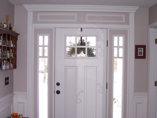 interior trim traditional entry other metro by