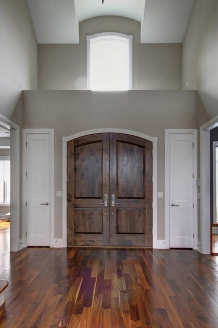 Interiors contemporary-entry