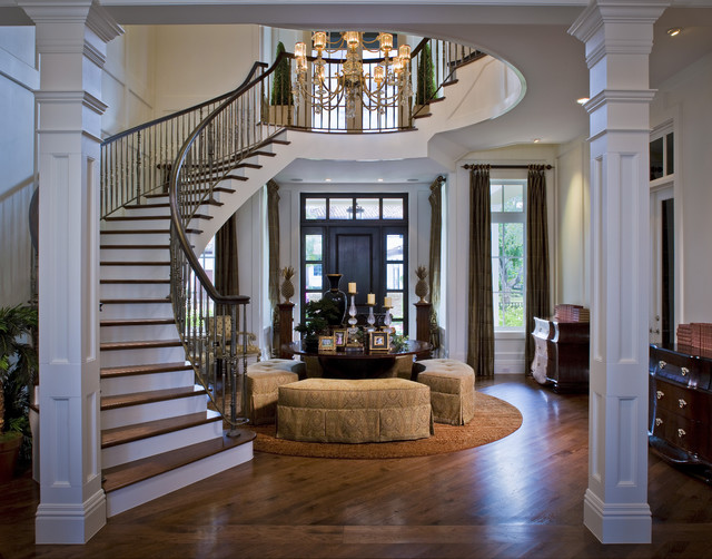 Intracoastal Waterway House traditional-entry