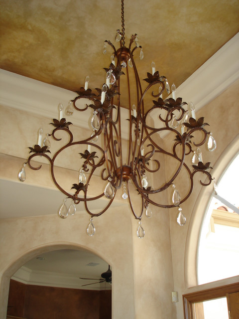 Hand Forged Iron Chandelier Traditional Chandeliers Phoenix By Rustic