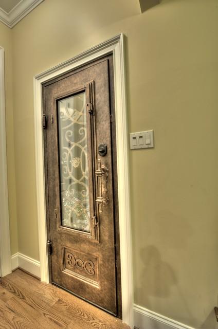 Iron Door entry