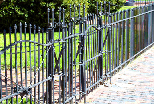 IRON DOORS and GATES traditional-entry