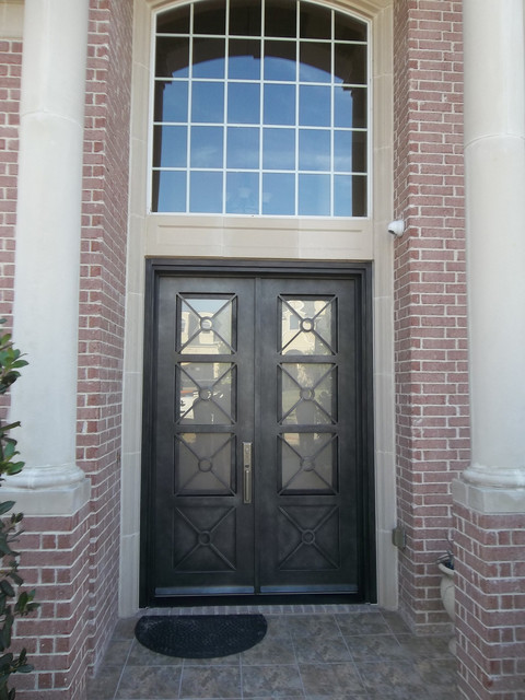 Iron Doors traditional-entry