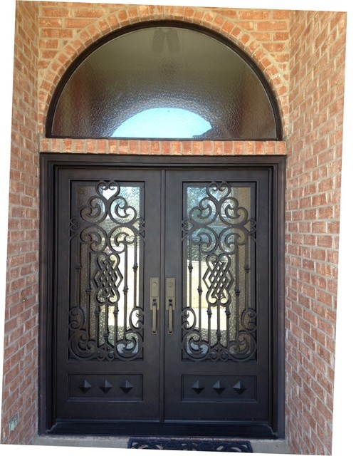 Iron Doors Traditional Entry Dallas By Southwest