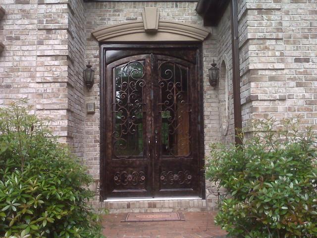 Iron Doors mediterranean-entry