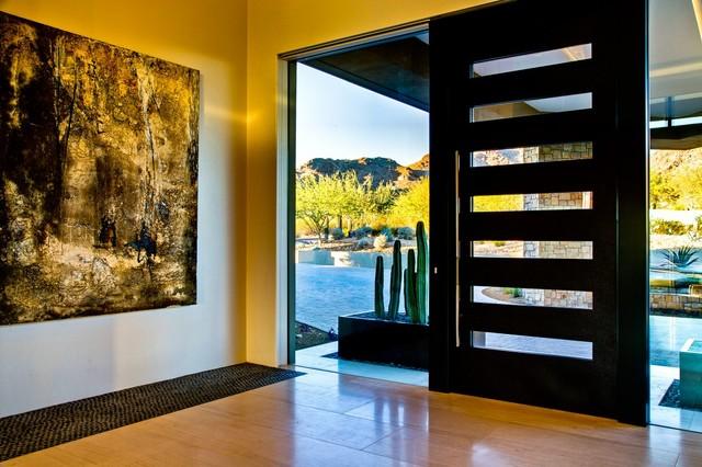 Ironwood contemporary-entry