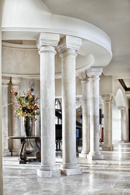 Italian Elegance Mediterranean Entry Dallas By
