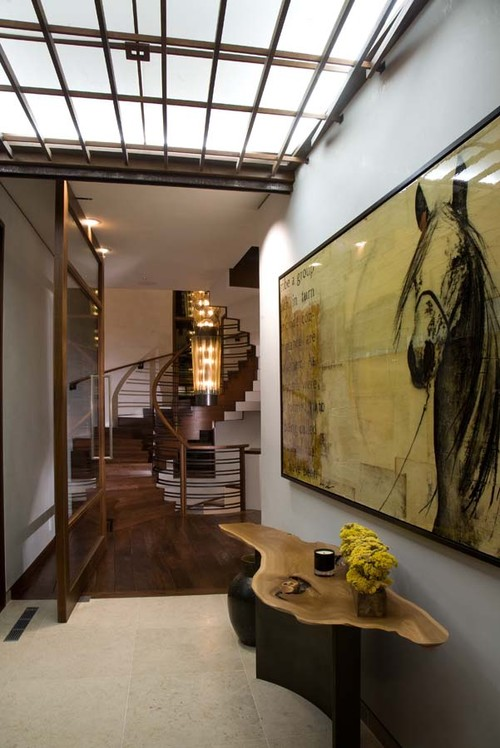 Contemporary Entry by Chicago Architects & Building Designers jamesthomas, LLC