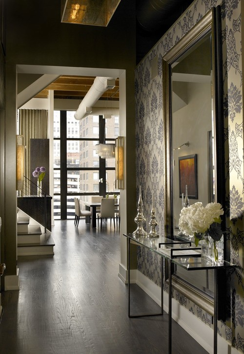Modern Foyer Houzz : Inspiring spaces grand foyer whats ur home story