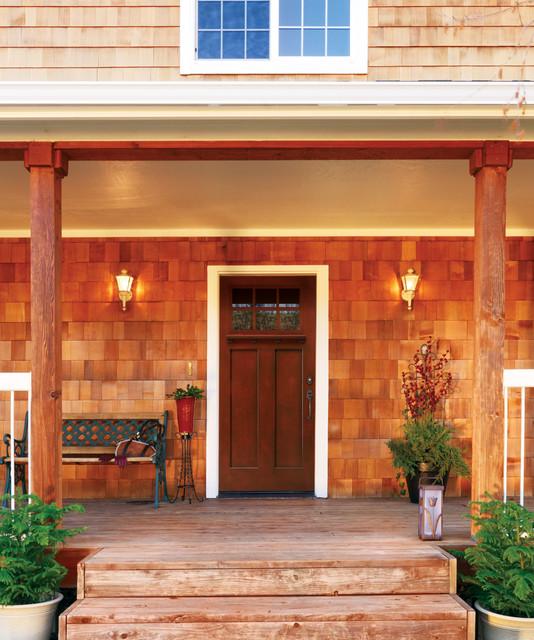 Jeld Wen Architectural Fiberglass Doors Transitional Entry