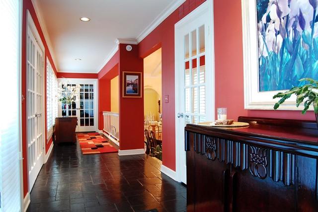 Jones Residence traditional-entry