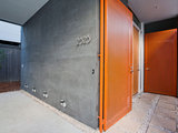 contemporary entry Front and Center Color: When to Paint Your Door Orange (14 photos)