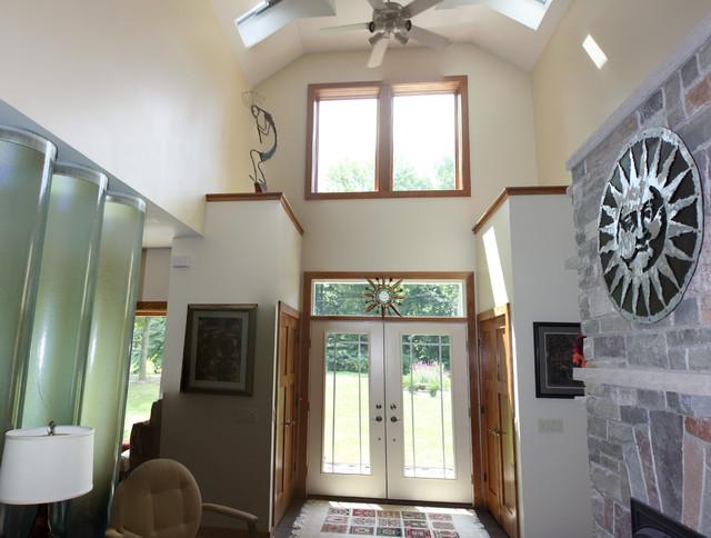 Kalamazoo Eco Home Traditional Entry Grand Rapids