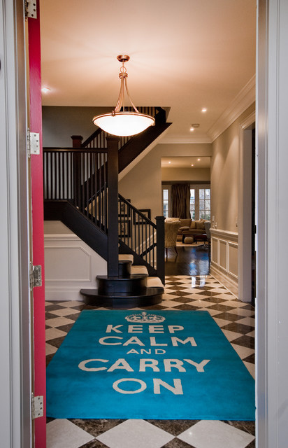 Keep Calm contemporary-entry