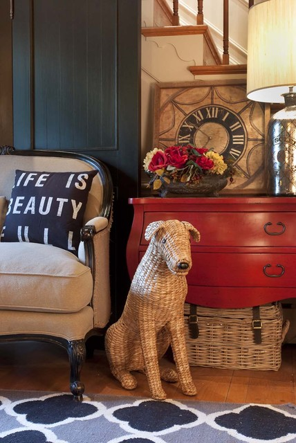 Kelley Price Interiors eclectic-entry