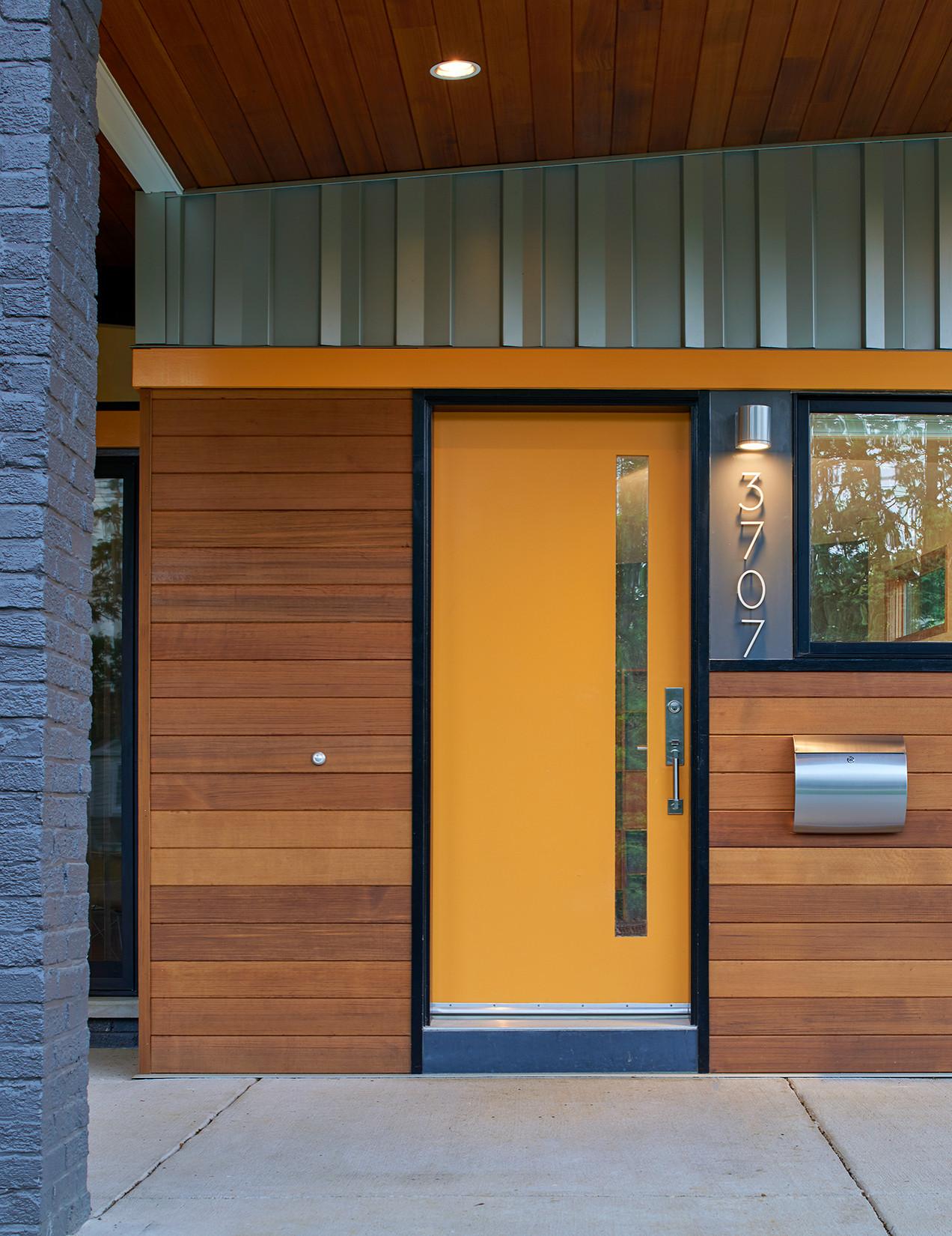 75 Beautiful Mid Century Modern Front Door Pictures Ideas November 2020 Houzz