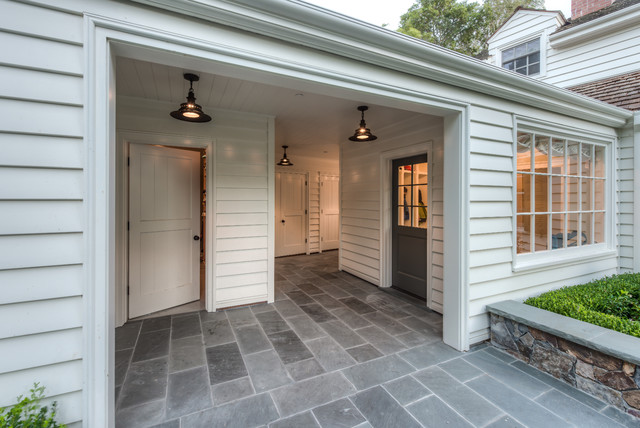 Kentfield garage traditional entry san francisco for Attaching a garage to a house with a breezeway