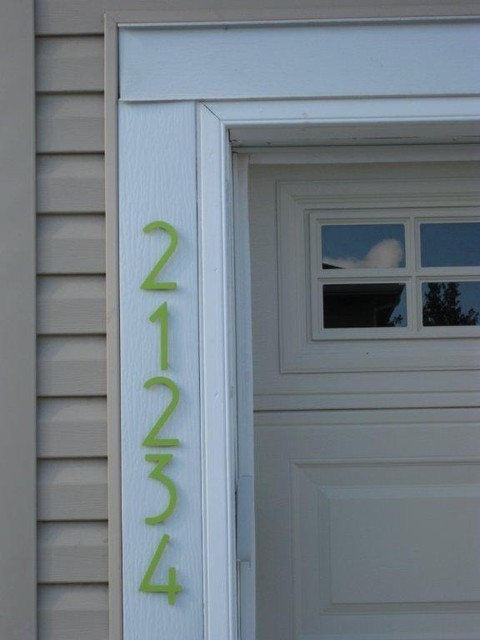 how to change house number toronto