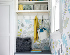 Kitchen Fun with Storm Gray transitional-entry