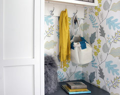 Kitchen Fun with Storm Gray - Entryway Nook transitional-entry