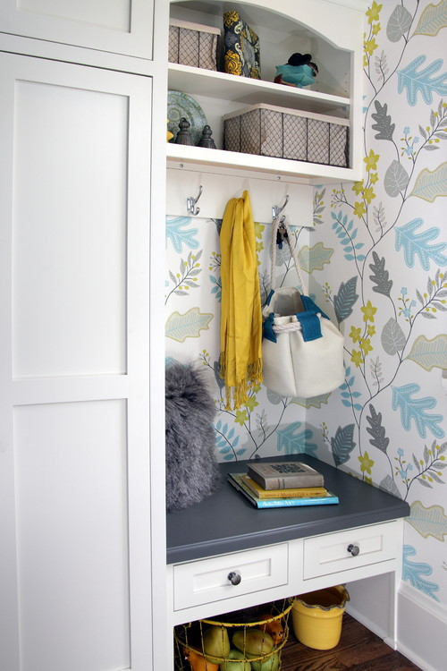 Kitchen Fun with Storm Gray - Entryway Nook