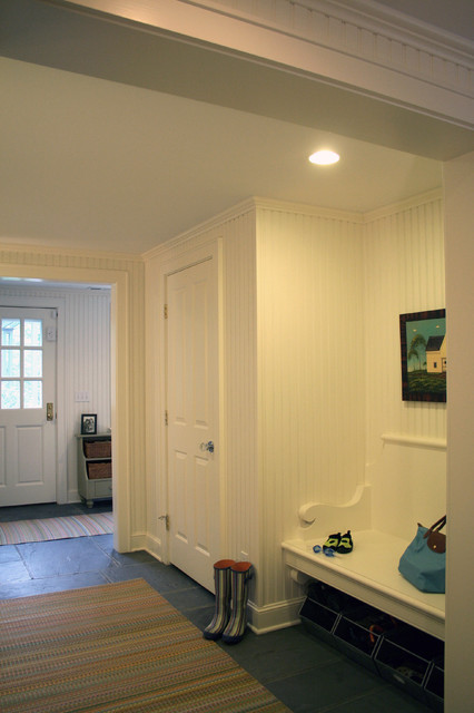 Kitchen mudroom garage remodel traditional hall new york by titus built llc Kitchen bath design center bedford hills ny