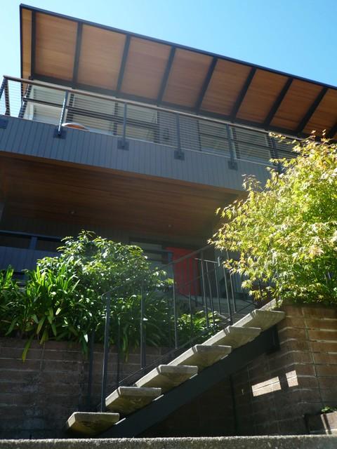 Klopf Architecture - San Francisco Mid-Century Modern Remodel midcentury-entry