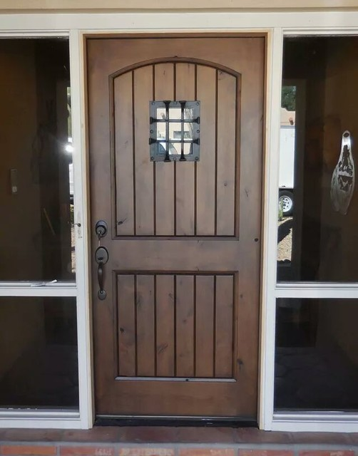 Knotty Alder Wood Doors