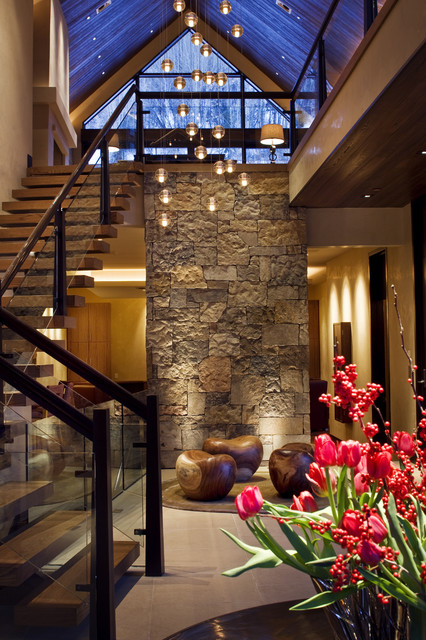 Knudson Interiors contemporary entry