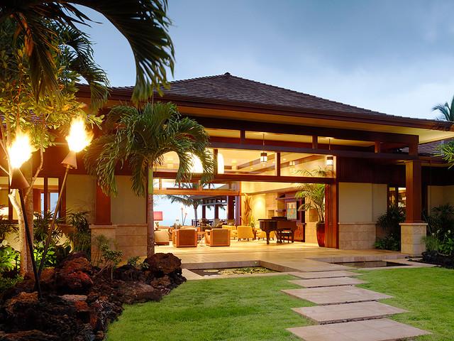 Kuikawa 3 Tropical Entry Hawaii By Gm Construction