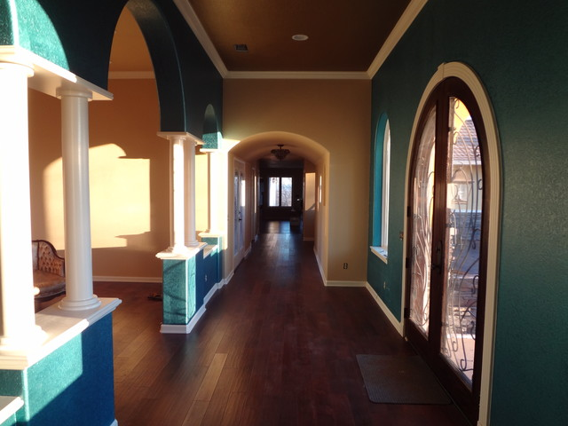 Laing Addition and Remodel mediterranean-entry