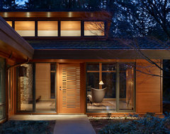 Lake Forest Park Renovation contemporary entry