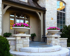 Lake Forest Residence traditional-entry