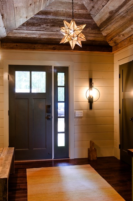 Lakefront Camp Contemporary Entry Boston By